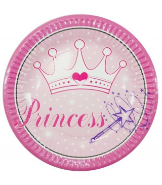 Тарелки Princess 8шт/уп