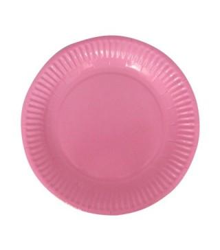 Тарілки Рожеві 8шт/уп