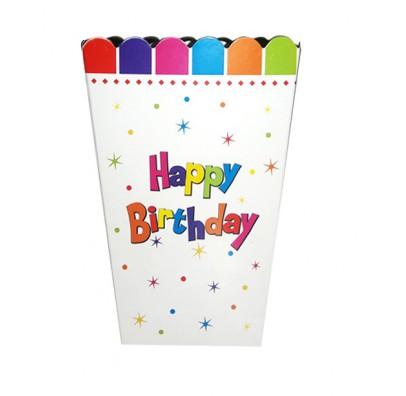 Коробка для попкорна Happy Birthday