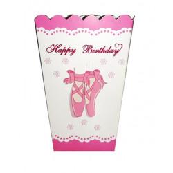 Коробка для попкорну Балет