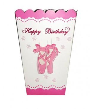 Коробка для попкорна Балет