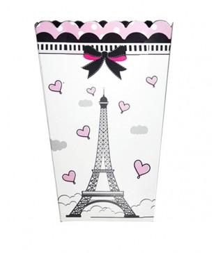Коробка для попкорна Париж