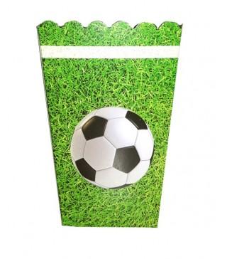 Коробка для попкорна Футбол