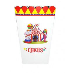 Коробка для попкорну Цирк
