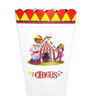 Коробка для попкорна Цирк