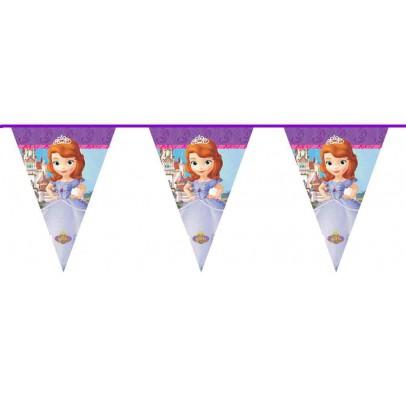 Гирлянда-флажки Принцесса София