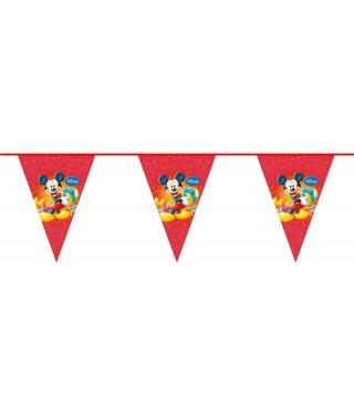 Гірлянда-прапорці Міккі Маус