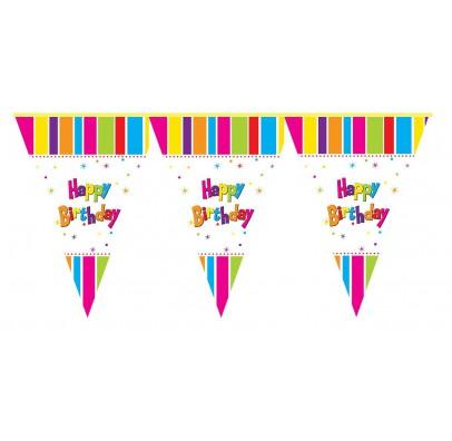 Гирлянда-флажки Happy Birthday