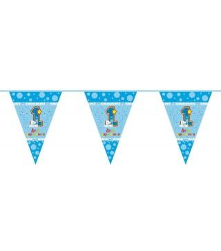 Гірлянда-прапорці 1-й день народження
