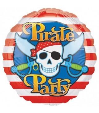 Шарик фольгированный Pirate