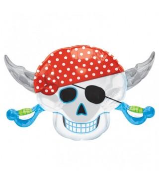 Шарик фольгированный фигурный Pirate