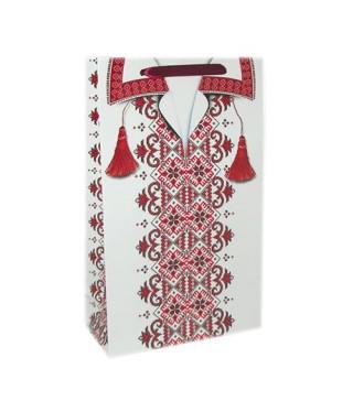 Подарочный пакет Вишиванка