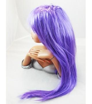Перука пряма фіолетова