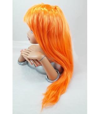 Перука пряма помаранчева