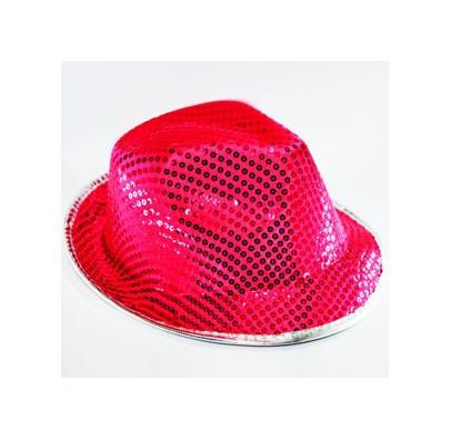 Шляпа с блестками