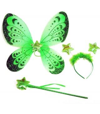 Набір Крила метелика зелені