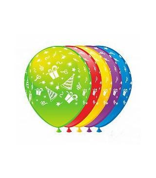 Кулька кругла 12 Свято 100шт/уп