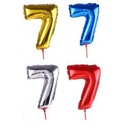 Кулька цифра 7 (35см)