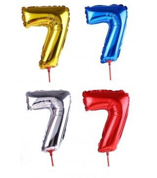 Шарик цифра 7 (35см)