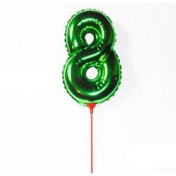 Кулька цифра 8 (35см)