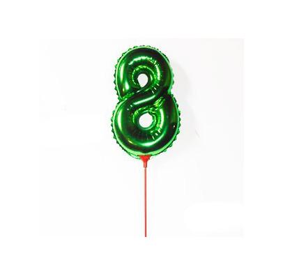 Шарик цифра 8 (35см)
