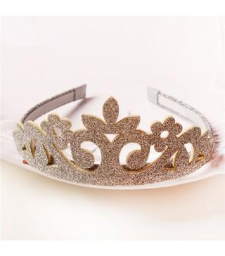 Обруч срібна корона