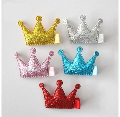 Заколка Корона блестящая