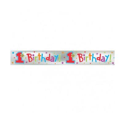Баннер 1-st Birthday