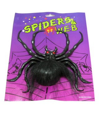 Павук з присоскою чорний