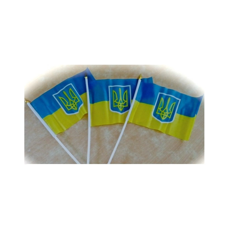 Прапор України синьо-жовтий маленький
