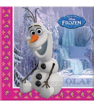 Салфетки Frozen Олаф