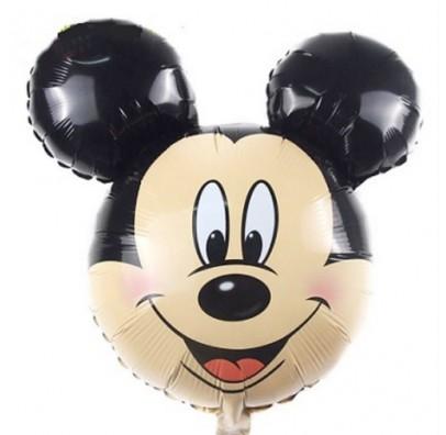 Шарик фольгированный фигурный голова Микки
