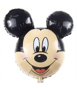Кулька фольгована фігурна голова Міккі