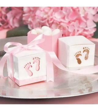 Бонбоньєрка Ніжка рожева