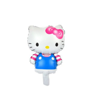 Шарик фольгированный мини Hello Kitty