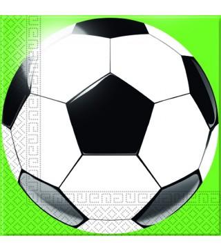 Серветки Футбол 20 шт/уп