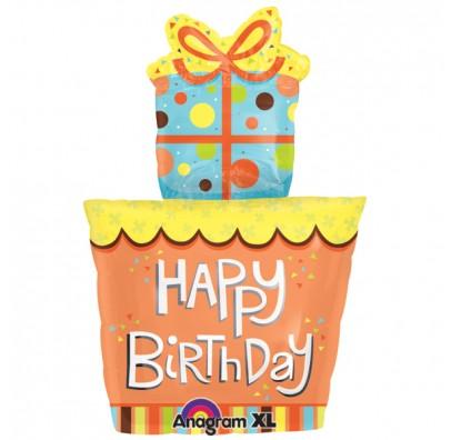Кулька Торт Happy Birthday