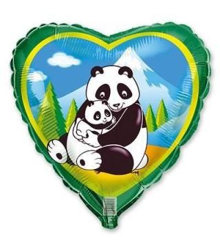 Шарик сердце Панды