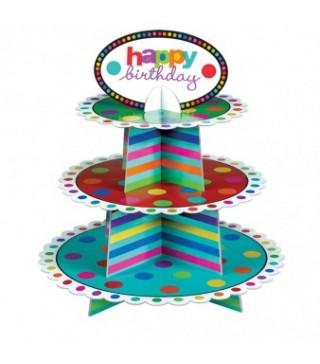 Підставка для кексів Happy Birthday