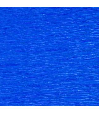 Креп-папір синій 50х200см