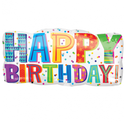 Кулька Happy Birthday