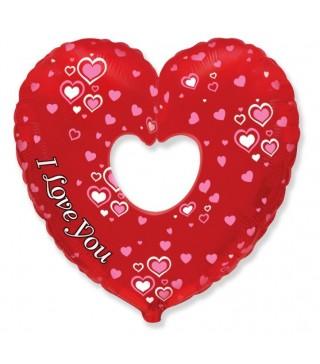 Кулька I Love You серце відкрите