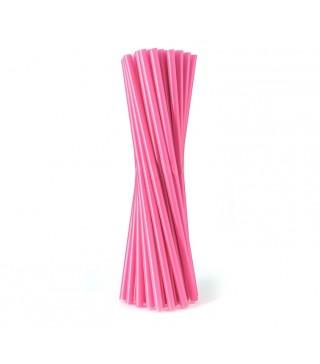 Трубочки фреш для коктейлю рожеві 25шт/уп
