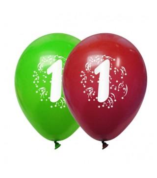 Набір кульок Цифра 1 3шт/уп