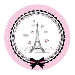Наклейка Париж