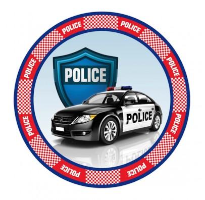 Наклейка Поліція