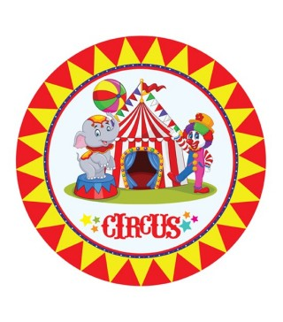 Наклейка Цирк