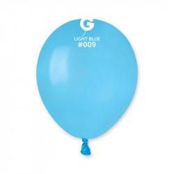 """Шарики 5"""" А50 голубые пастель"""