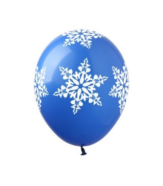 Набір кульок Сніжинка 5 шт/уп