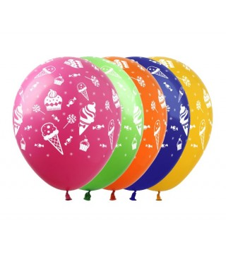 Набір кульок Солодощі 5 шт/уп